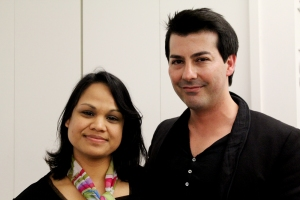 Bacca Da Silva with Indu Arora of Pink Weave/ Rock Chiq