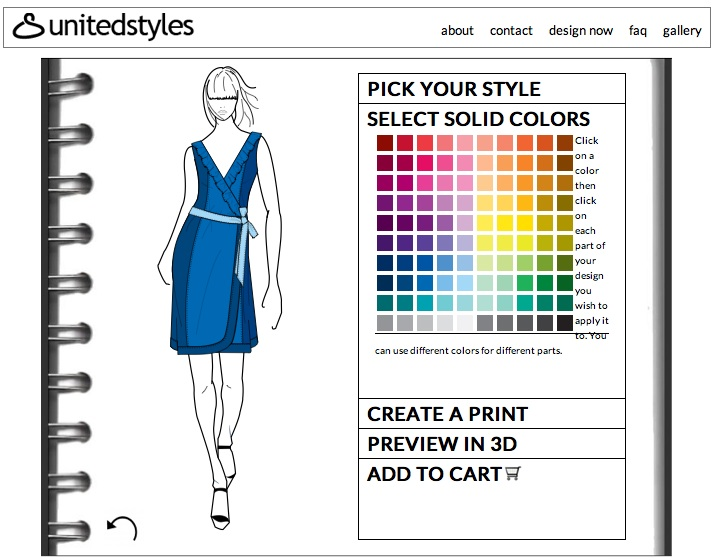 Make your own clothing line online