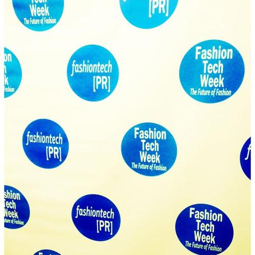 FashionTechWeek 2013 Backdrop