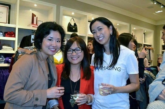 LookMazing Beta Launch Party at Banana Republic
